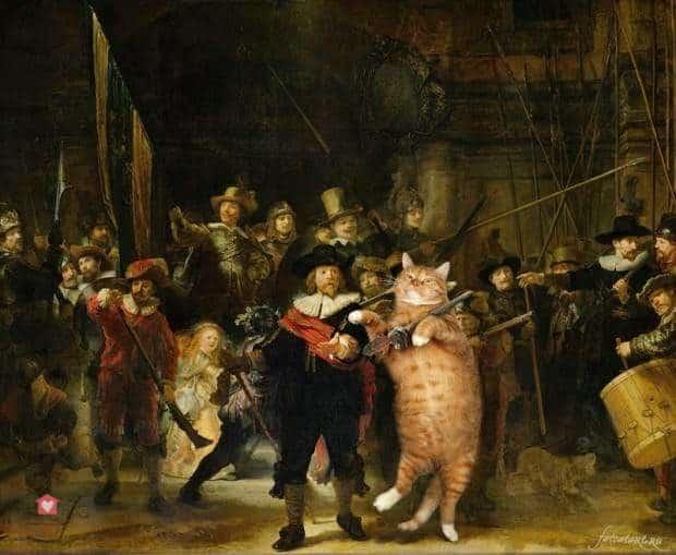 La ronde de nuit, Rembrandt