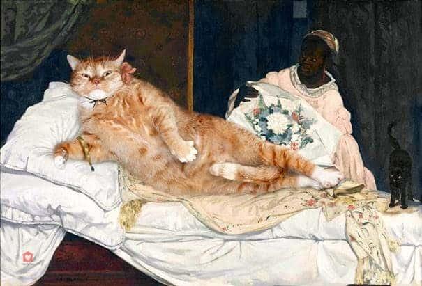 Olympia Edouard, Manet