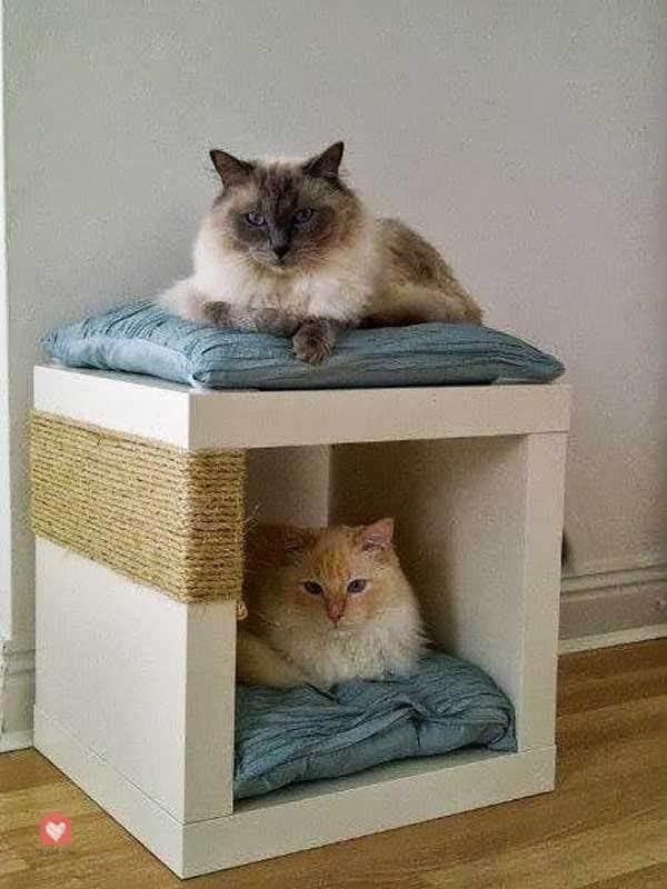 Fabriquer Un Griffoir Chat Ikea 03