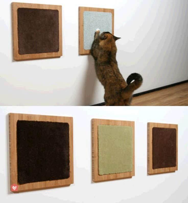 Fabriquer Un Griffoir Chat Mural 03